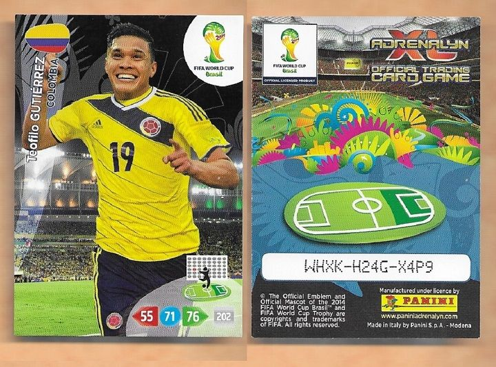 Panini Adrenalyn XL World Cup 2014-76-Colombie-Logo