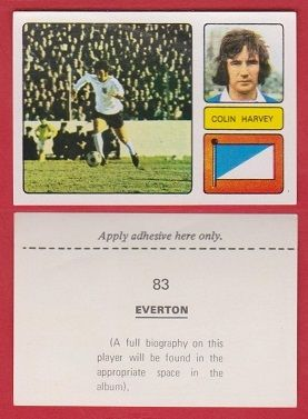 Everton Colin Harvey England