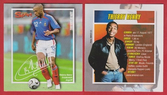 pretty nice fd9d3 6c10e France Thierry Henry Arsenal