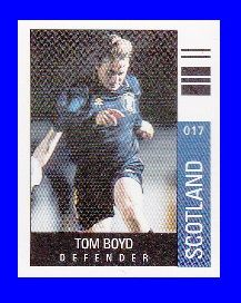 Scotland Tom Boyd Glasgow Celtic